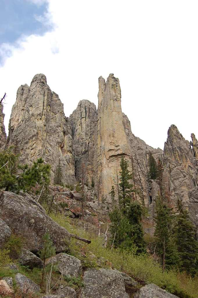 The beautiful Cathedral Spires.