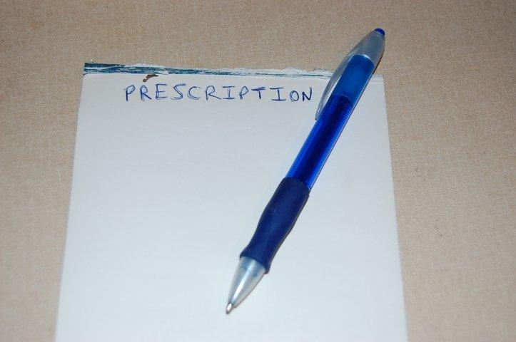 Prescription for wanderlust.