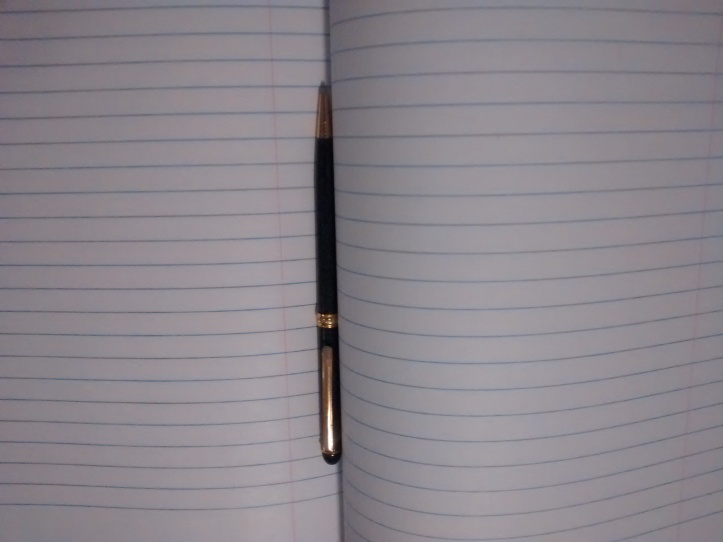 Writing dreams start with the blank page.
